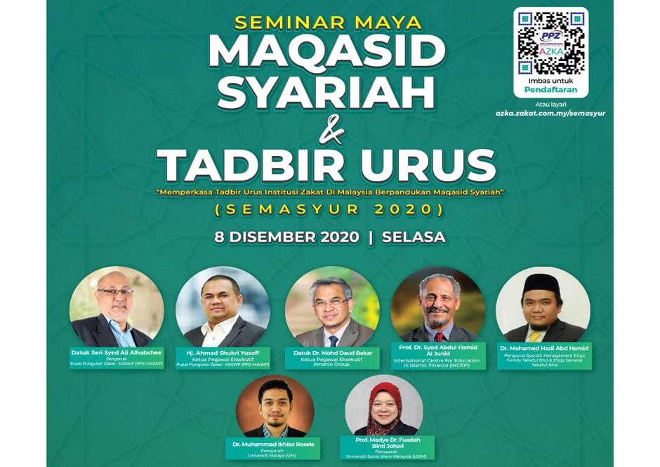 Seminar Maya Maqasid Syariah & Tadbir Urus (SEMASYUR)